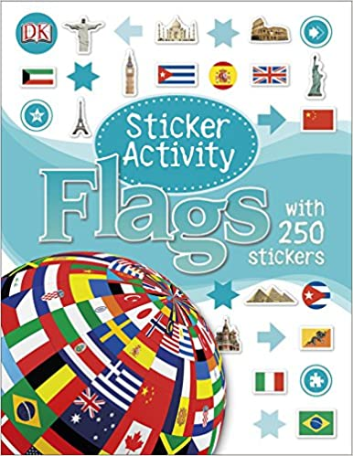 Book Sticker Activity Flags
