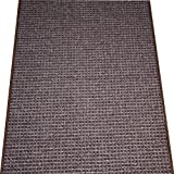 Washable Non-Skid Carpet Rug Runner - Cobbler Brown (5')