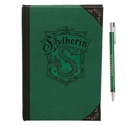Bioworld Slytherin Journal Harry Potter Accessory Slytherin Stationary Harry Potter Gift