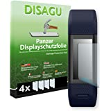 4 x DISAGU Armor screen protector for Garmin vivosmart HR+ screen fracture protection film (intentionally smaller than the display due to its curved surface)