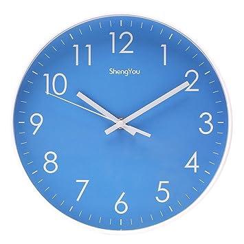 nice design quiet wall clock. Bien Zs 10 Inch Non Ticking Silent Quartz Wall Clock with Modern Design Amazon com