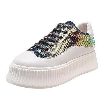 LILICAT✈✈ Zapatillas Hombres Mujer Deporte Running Zapatos ...