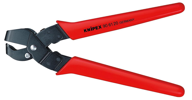 KNIPEX 90 61 16 Pince Emporte-pi/èces Brunie avec Gaines en Plastique 250 mm