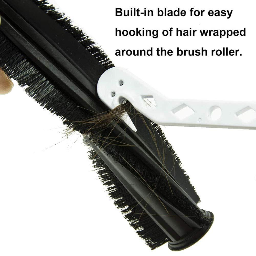 2 Pack HEPA Filter /& 6 Side Brush /& 1 Clean Brush Lemige 2 Pack Replacement Filter 6 Side Brush for Shark ION Robot S87 R85 RV850 Vacuum Cleaner