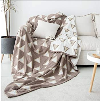 YHviking Nordic Sofá Acolchado,Funda de sofá de la Tela,Moderno Simple Funda Cubre sofá,Todo Incluido Algodón Funda de sofá,Manta Toalla 1 Pieza-F ...