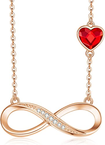 Triple Chain Necklace 925 Sterling Silver Rose Gold Plated