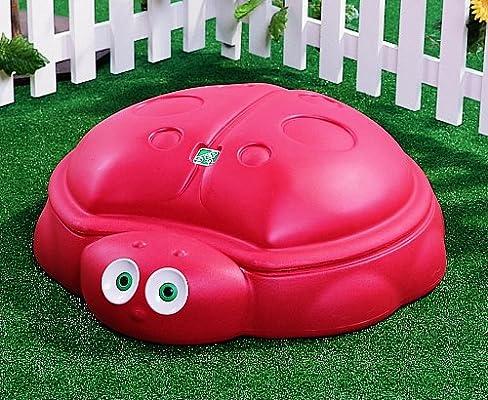 Amazon Com Step2 Ladybug Sandbox Toys Games