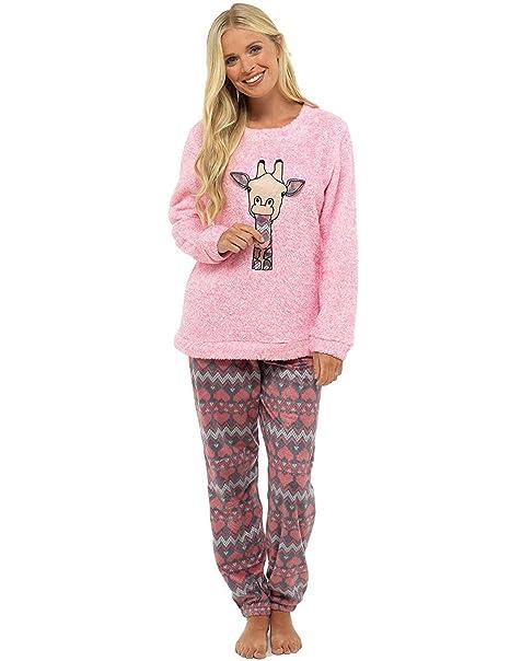 Pijama de Pijamas cómodos Pijamas Snuggle Pijamas cálidos Pijama Twosie Set   Desgaste de Lujo del