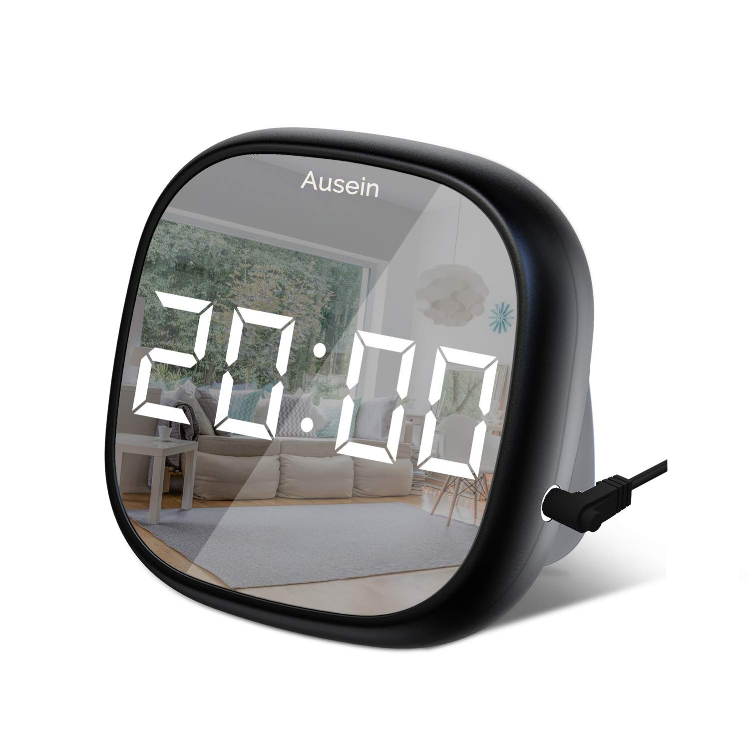 Digital Alarm Clock, Electronic LED
