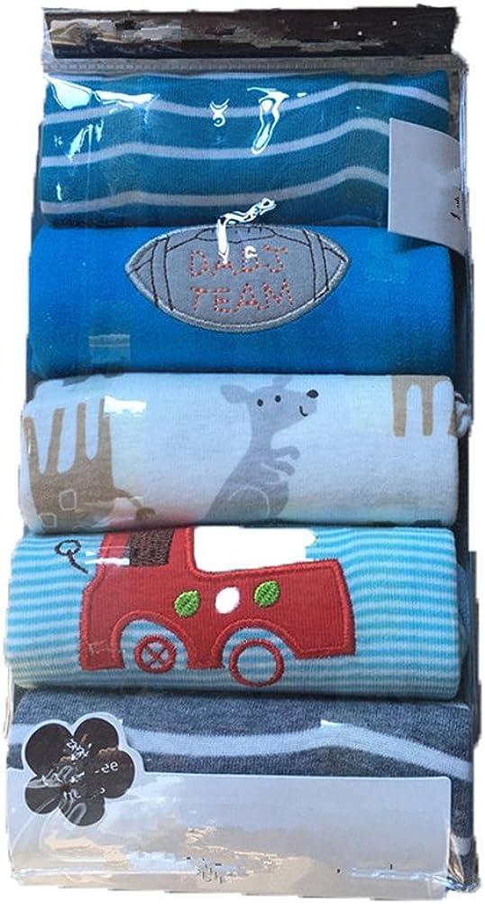 Monvecle Unisex Baby Multi Pieces Newborn to Toddler Cotton Leggings Long Pants Shorts Gift Set