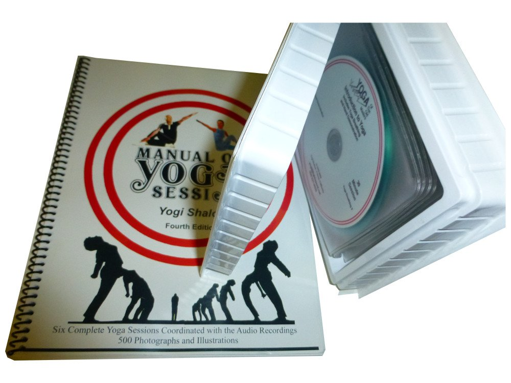 MANUAL OF YOGA SESSIONS (Book & CDs): YOGI SHALOM: Amazon ...