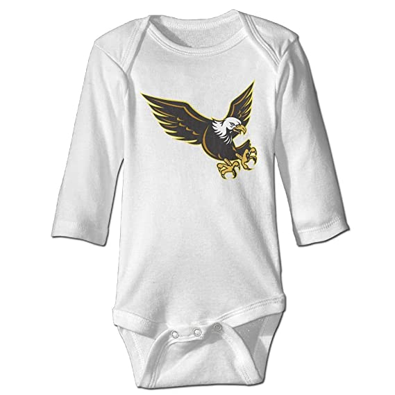 d48f772a847 Amazon.com  KIDDDDS Baby American Bald Eagle Flying Long Sleeve Romper  Onesie Bodysuit Jumpsuit  Clothing