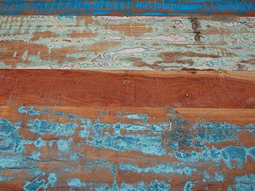 Legno 160x90x75 cm Marrone Esidra Chicago Heights Tavolo rettangolare