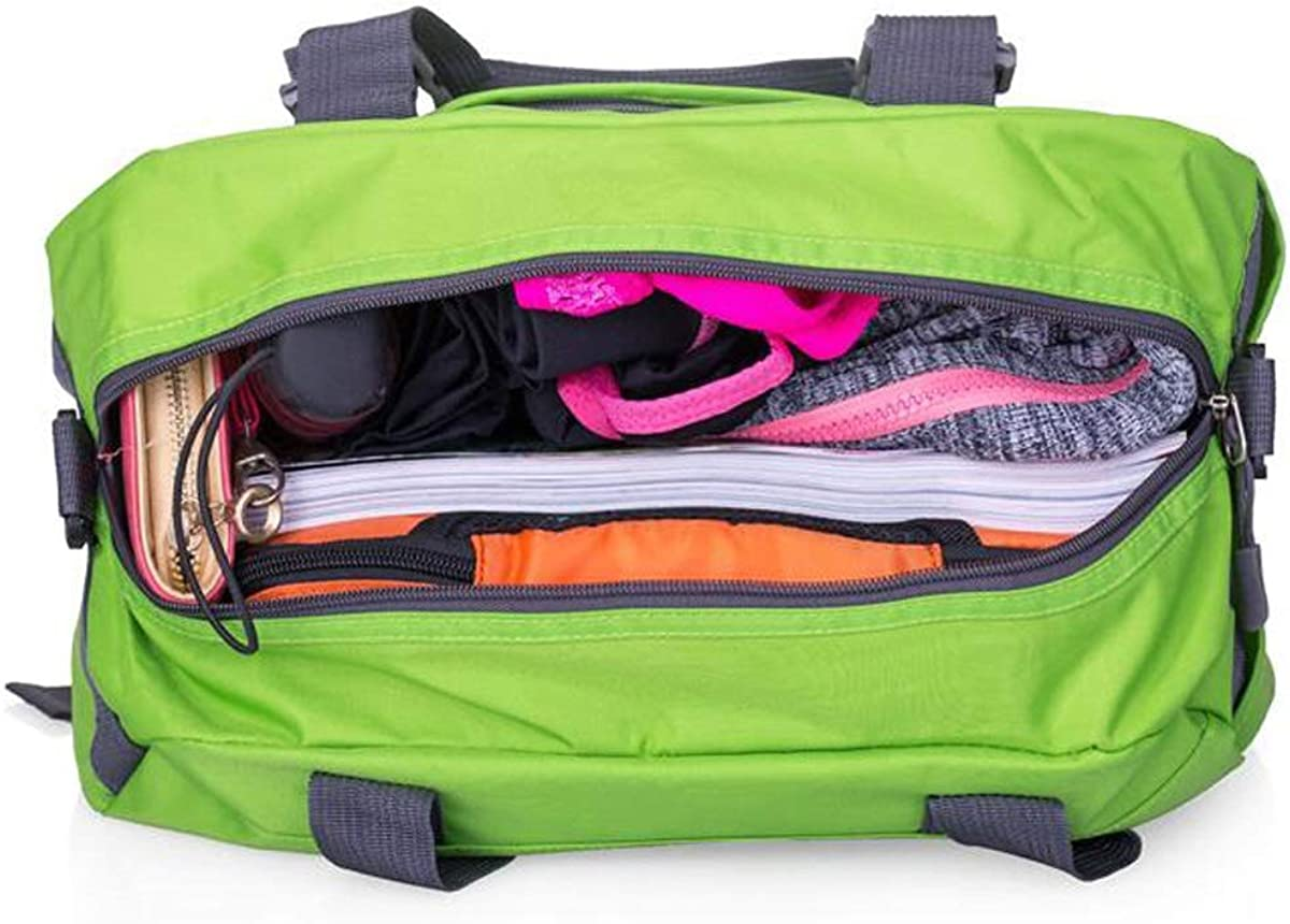 Outdoor Travel Bag Chenjinxiang Sports Bag Large Capacity Gym Bag Color : Pink Size: 402121cm Concise Waterproof Yoga Bag