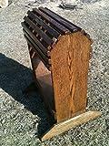Plans on how to make a wooden saddle rack Bigboy