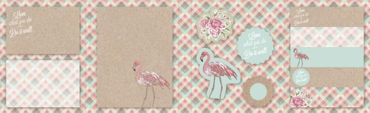 Baier /& Schneider Haftnotizen-Set RVS Flamingo