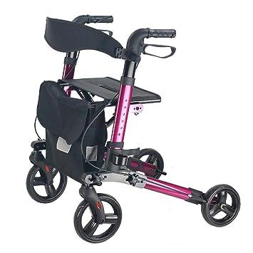 Andador con ruedas con asiento, Andador de ruedas médico ...