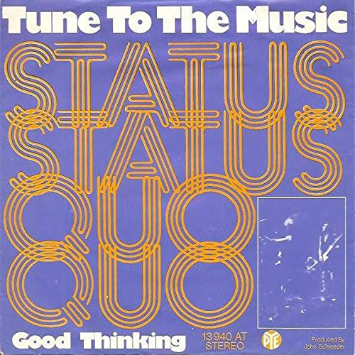 Status Quo - Status Quo - Tune To The Music - Pye Records - 10 227 At - Zortam Music