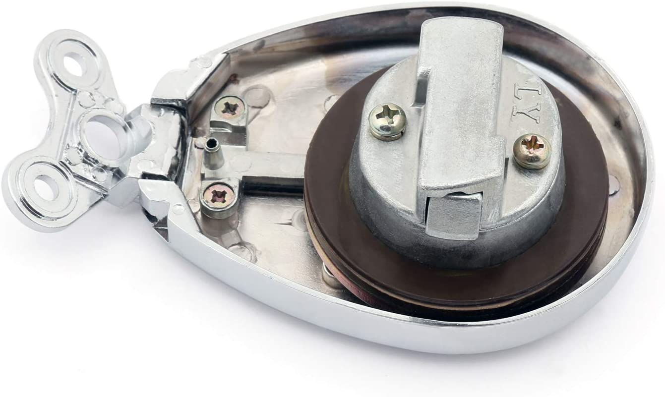 Benzindeckel Tankdeckel mit Schl/üssel f/ür KA-WA-SA-KI BJ250 EL250 ZL 400//500 Eliminator BN125A VN1500 Tankdeckel Artudatech Motorrad-/Öldeckel