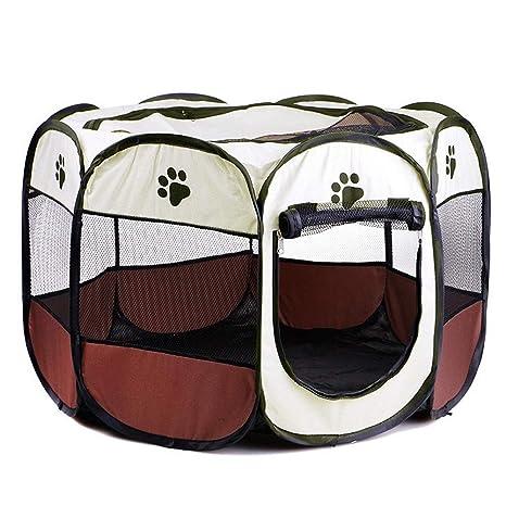 Newdvmmss - Jaula Plegable de Tela para Mascotas, Cachorro, Gato ...