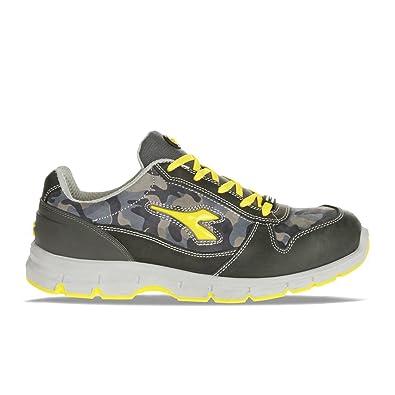 De Sécurité Flash Run Gris Granitbleu Diadora Chaussure Basse RjL5A4