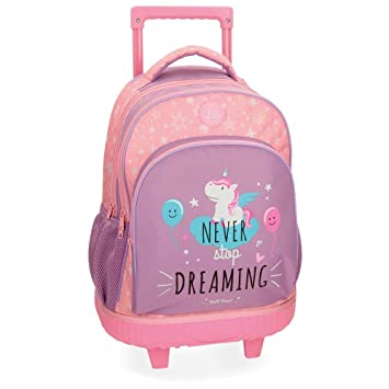 Roll Road Unicorn 4422962 Mochila Escolar, 44 cm, 19.6 litros, Rosa: Amazon.es: Equipaje