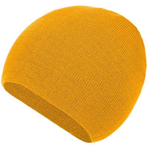 Woman 4sold Knitted Lady amarillo Un Winter Torsades Fur Pursed o With Gorros Beanie Wava For Varios Skullies colores tama r8wqAr