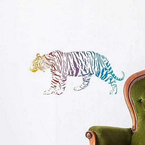 Interior Art Decor //Animal Vinyl Decal ra9 Ring Tailed Lemur Animal Wall Decal