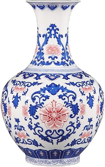 home goods decorative vases.htm amazon com ly antique blue and white porcelain vase  suitable for  antique blue and white porcelain vase
