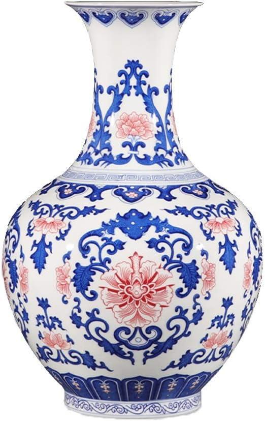 blue decorative vases.htm amazon com ly antique blue and white porcelain vase  suitable for  antique blue and white porcelain vase