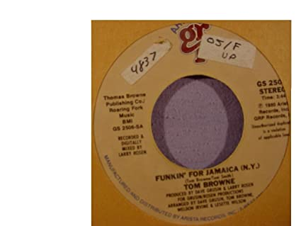tom browne funkin for jamaica free mp3 download