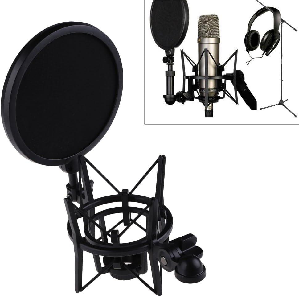 RoXdon RPS100 Metal Microphone Pop Filter Shield Screen