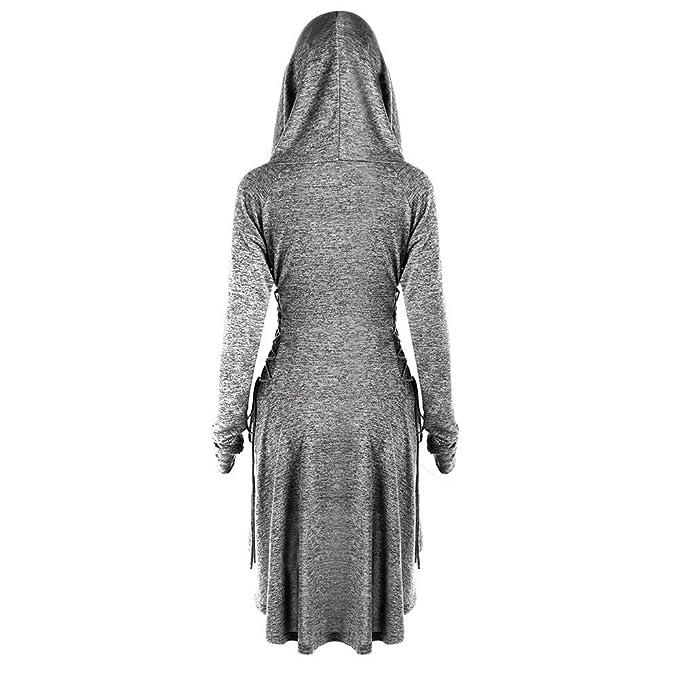 Amazon.com: Vestido gótico punk de encaje para mujer, con ...