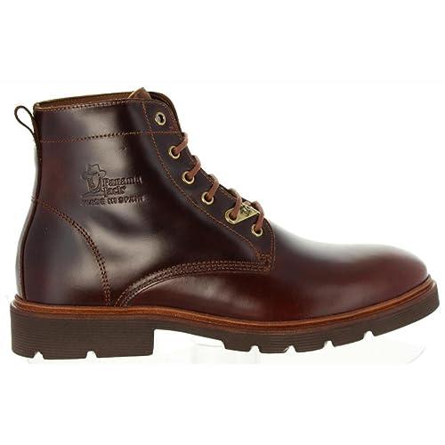 Botines de Hombre PANAMA JACK Dover C2 Pull UP Cuero: Amazon.es: Zapatos y complementos