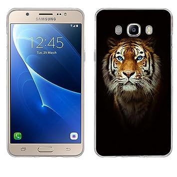 FUBAODA Funda para Samsung Galaxy J7 2016 Silicona TPU, Carcasa ...