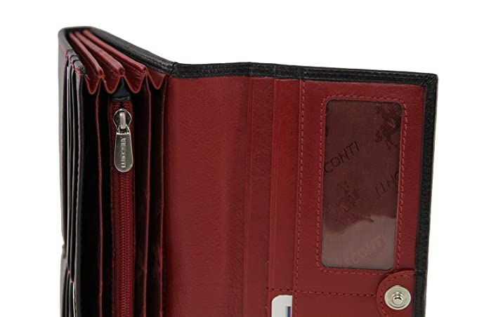 Amazon.com: Visconti CD21 Calidad de piel suave – Cartera ...