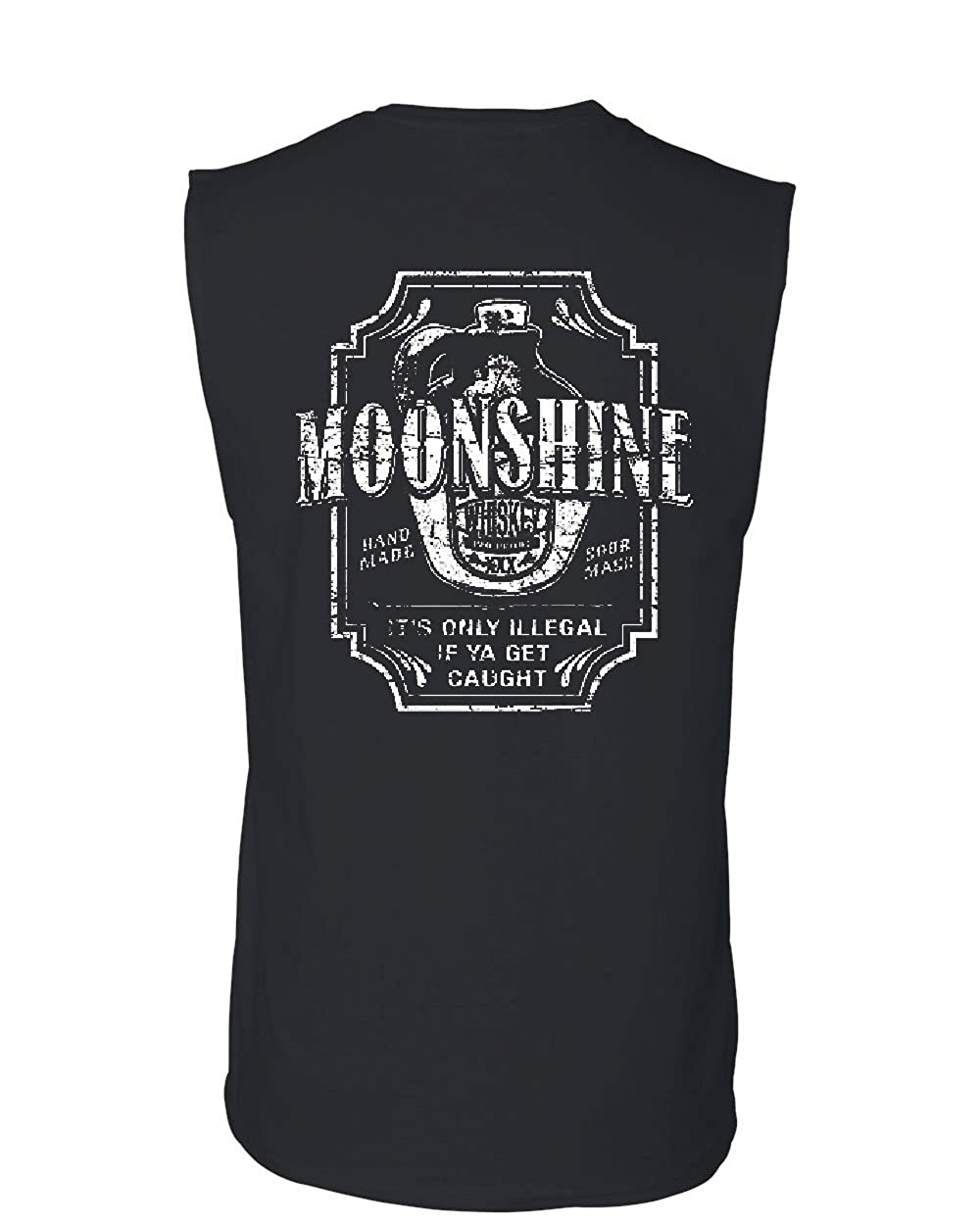 Moonshine Tennessee Whiskey Muscle Shirt Smoky Mountain