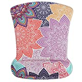 Cheliz Memory Foam Mouse Pad Mat with Wrist Rest(Colorful Petals)