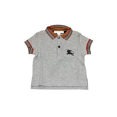 BURBERRY - Polo - para niño Gris Luminoso (ral 7035) 12 años ...
