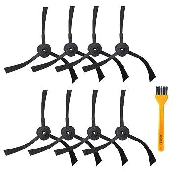 Accesorios Kit de cepillo lateral para ILIFE A6 A4s A4 Robot ...