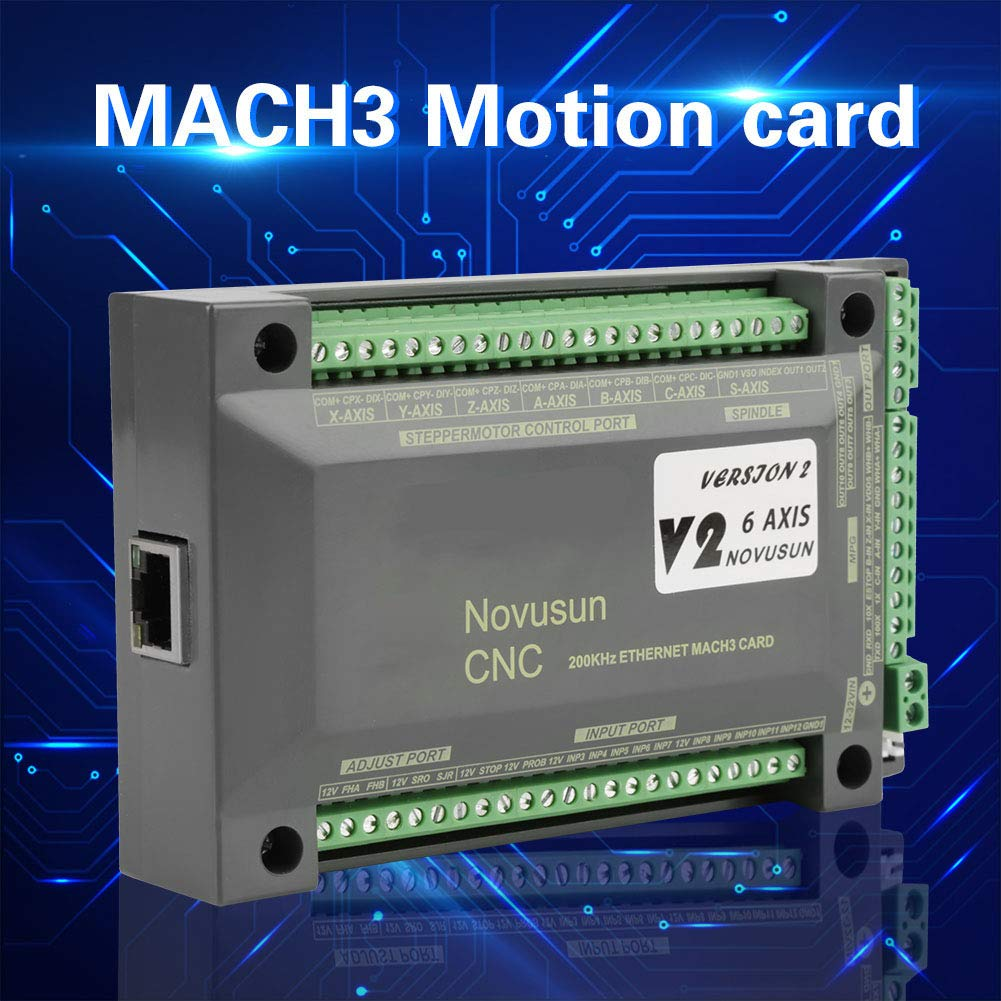 Hilitand MACH3 Motion Control Card NVEM CNC Controller 6 Axis MACH3 Ethernet Interface Motion Control Card Board for CNC Engraving by Hilitand (Image #7)