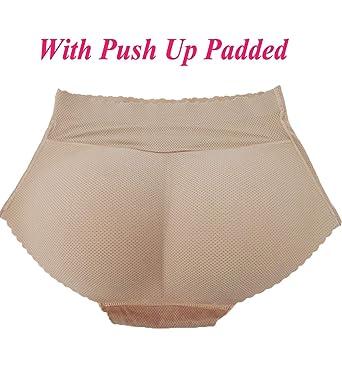 cd67f64c45 AFUT Damen Po Push up Unterhosen Höschen Padded Butt Lifter Enhancer  Miederhose Nahtlose Miederslip mit Bauch