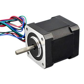Motor paso a paso NEMA 17HS19-2004S1 de 1,8 grados para impresora ...