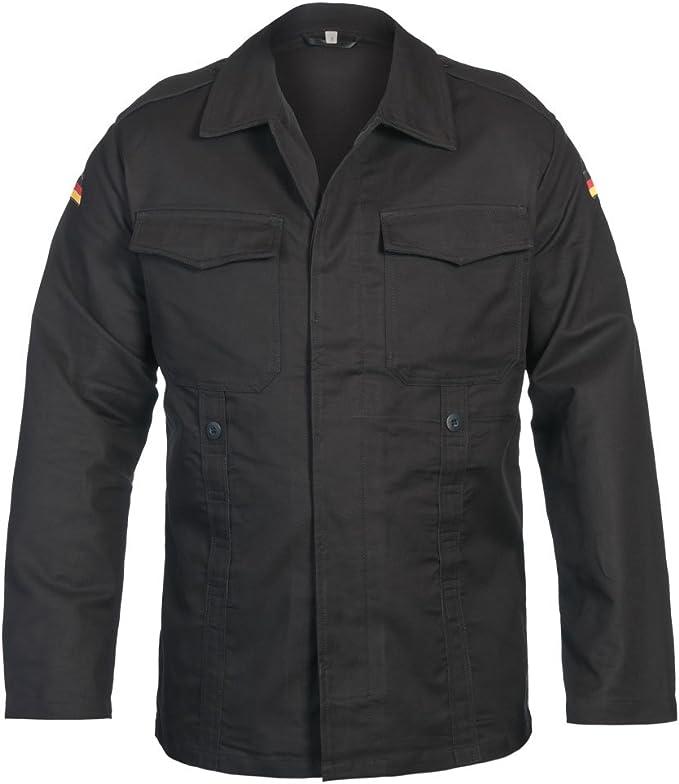 Mil-Tec BW Moleskin Chaqueta Negro