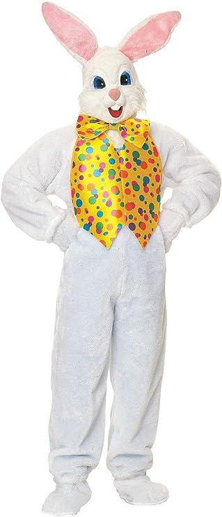 Desconocido Disfraz de Conejo de Pascua para adulto: Amazon.es ...
