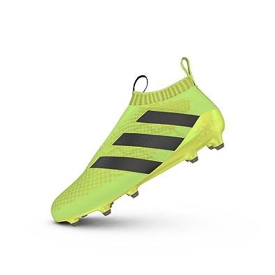 Adidas Ace 16 pureco SmartControl FG Chaussures de Football pour Homme, Jaune fluo