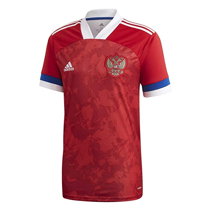 adidas RFU H JSY Camiseta Oficial 1ª Equipación Unión de Fútbol Rusa, Hombre