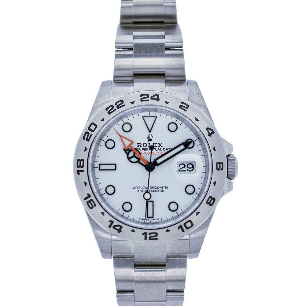 Rolex Explorer II automatic-self-wind mens Watch 216570 (Certified Pre-owned)