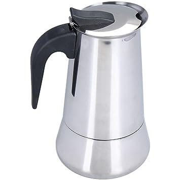 Oxid7® Espressokocher Espresso Mokka Maker Aluminium für 9 Tassen Espress