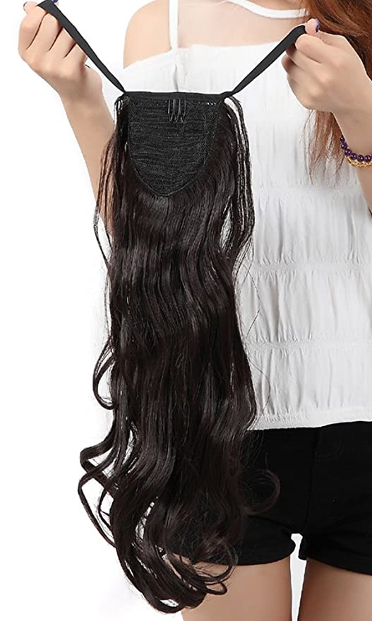 Buy Uk Pnc Shopping Mall 18 Inches Tie Up Ponytail Clip In Hair